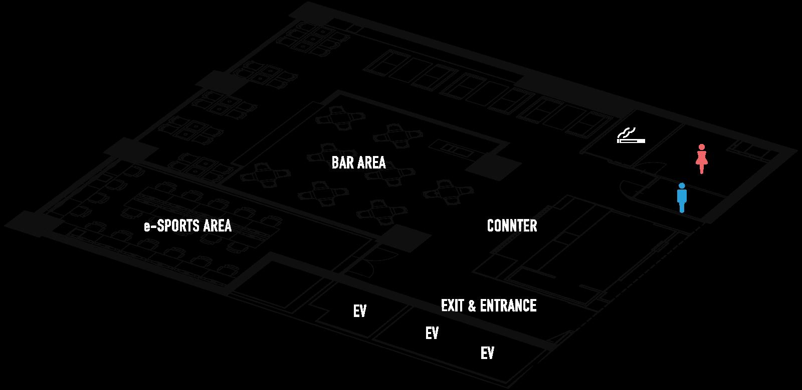 e-REVO フロアマップ